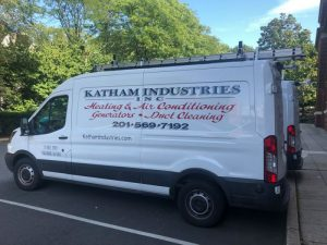 Parked Katham Industries Service Vehicle