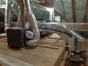 Installation of Ventilation System in Attic
